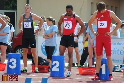 Daňkův memoriál 2012, běh na 100 metrů mužů