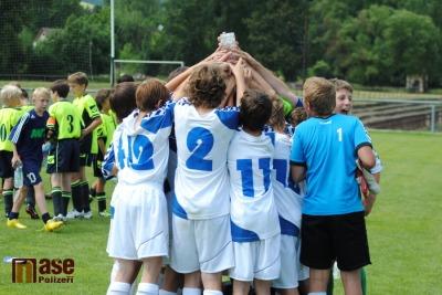 Pohár za vítězství v rukou nadějí Slovanu Liberec