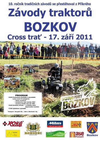 Oficiální plakát traktory Bozkov