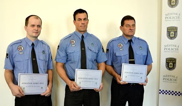Ocenění strážníci